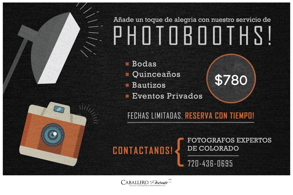 Alquiler de foto cabinas en denver colorado