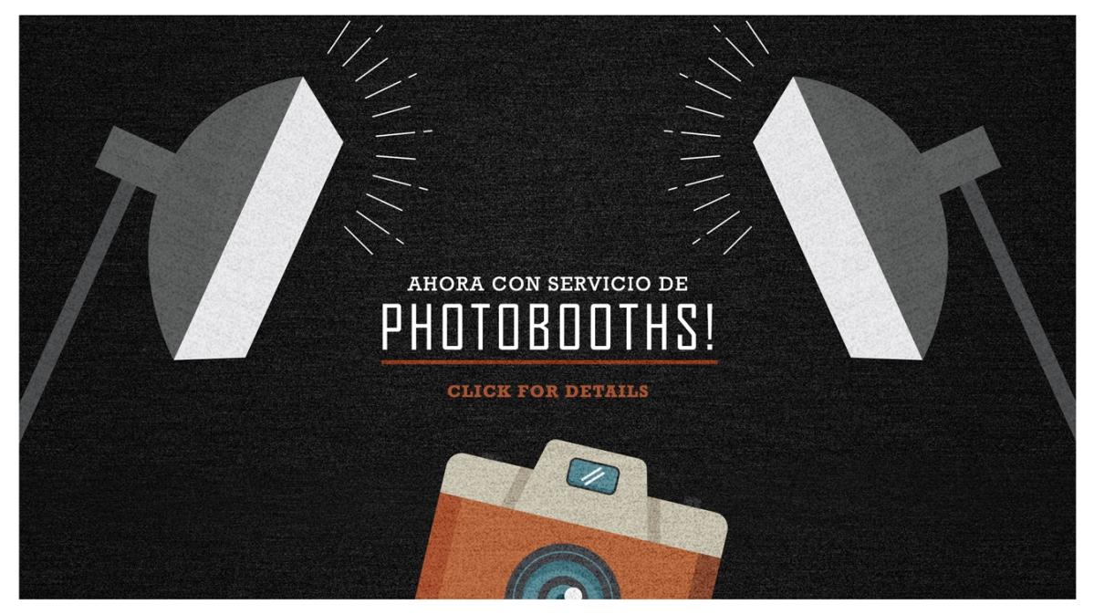 Renta de photo booths en Denver