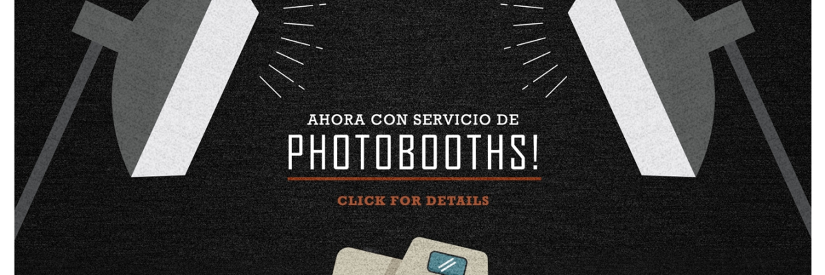 Renta de photo booths en Denver