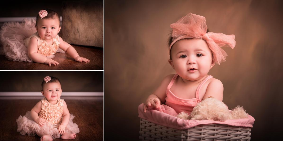 Fotógrafos en Denver sesión de bebes y niños estudio fotográfico