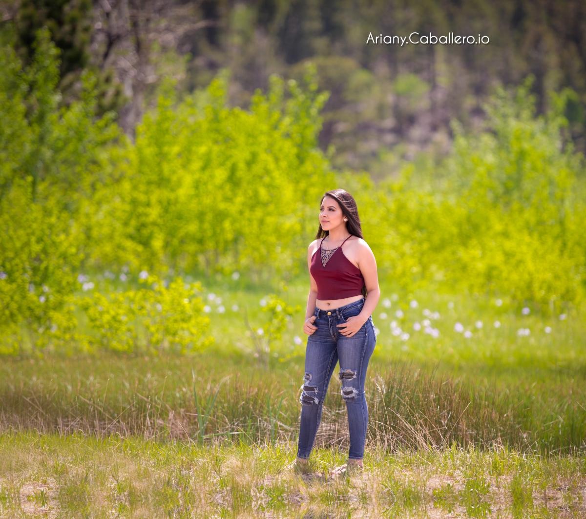Ariany Sesion Casual de XV (Quinceanera) Jesse Caballero | Fotografos en Denver
