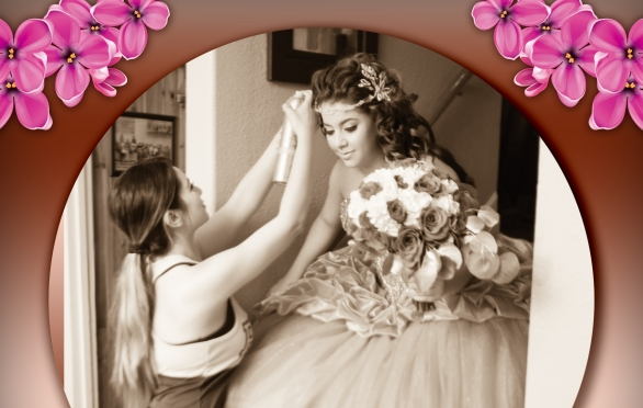 Hairs and Make up for quinceaneras and weddings in Denver COlorado USA