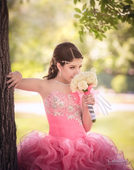 Ariana Quinceanera, beautiful Dress, Beautiful girl
